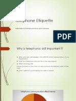 Telephone Etiquette in Business
