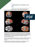 Ess-Sucht Funktioniert Im Gehirn Wie Drogen-Sucht