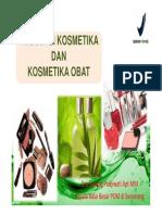 Regulasi Kosmetika Dan Kosmetika Obat [Compatibility Mode]