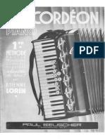 Accordeon - Etienne Lorin