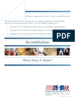 ISSA Accreditation Status Explained