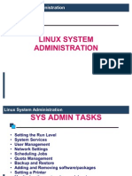 SAM. LINUX System Admi