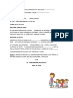 Lista de Utiles Escolares Hoja 2