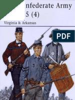 435. the CSA 1861-65 (4) Virginia.&.Arkansas