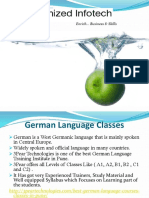 Best German Language Courses in Pune | German Language Classes in Pune | 3PEAR Technologies