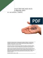Inmuebles 2003 Spain