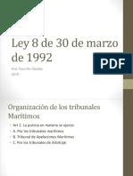Ley 8 de 30 de Marzo de 1992
