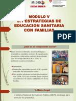 V.1 Estrategias Educacion Sanitaria Con Flias