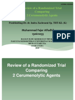 Review of a Randomized Trial Comparing