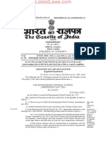 Homoeopathy Central Council (Amendment) Act, 2018