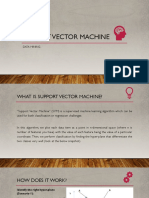 Support Vector Machine - Presentation