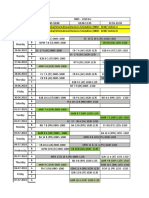 Latest Updated PGP Term IV Pre- Mid Term Schedule Updated Week 4 & 5