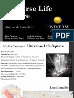 Universe Life Square - Correlato