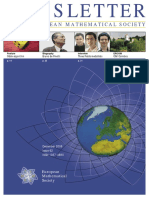 2006 12 NEWSLETTER OF THE EUROPEAN MATHEMATICALSOCIETY