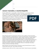 Adrian Paunescu o Scurta Biografie