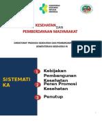 Kebijakan Dan Strategi Promkes