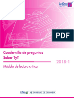 Cuadernillo de preguntas lectura critica saber tyt 2018-1 (1).pdf