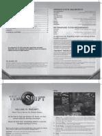 TimeShift Manual ENG