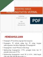 Presentasi Kasus Mata-konjungtivitis Vernal
