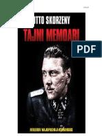 Otto Skorzeny - Tajni Memoari