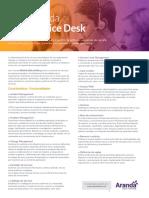 Datasheet Service Desk 2018