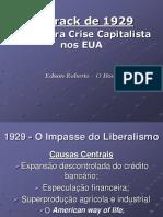 Historia Crise 1929