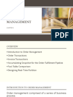 Order Management Report