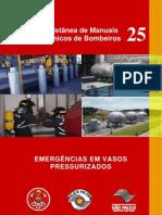 MTB-25 - EMERGÊNCIAS EM VASOS PRESSURIZADOS