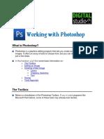 Photoshop Handout
