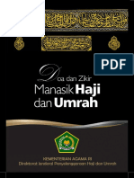 Buku Doa Dan Zikir Manasik Haji Dan Umrah