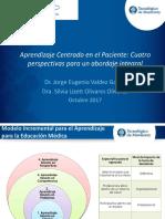 Valdez Garcia y Olivares Olivares. Aprendizaje  Centrado en el Paciente