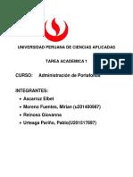 Tarea Upc 1 Portafolio