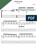 Johann Sebastian Bach - Bwv 997 Double (Guitar Pro)