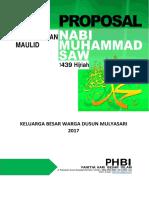 PHBI Maulid 1439H2017M