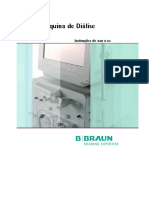 BBraun Dialog+ Manual de Operação.