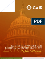 CAIR 2009 Civil Rights Report 2009