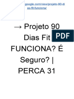 → E-Book Projeto 90 Dias Fit Emagrecedor? Funciona? | PERCA 31 Kg-90 Dias [PDF]
