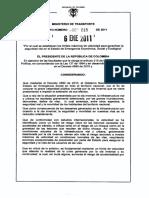 Manual de Señalizacion Vial 2015