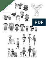 Personas Con Diferentes Caracteristicas Fisicas