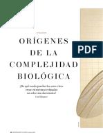 Zimmer, Carl - Origenes de La Complejidad Biologica