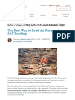 The Best Way to Read the Passage in SAT Reading.pdf