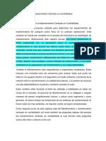 Resumen Analitico. Libro Confiabilidad de Mantenimiento..Listo 08-07-18