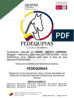 FEDEQUINAS-REGLAMENTO