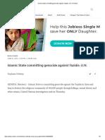 Islamic State Committing Genocide Against Yazidis_ U.N. _ ENGLISH