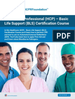 Healthcare Professional HCP Basic Life Support BLS Certification Course National CPR Foundation