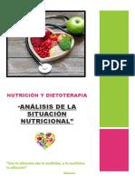 Analisis de la sitacion nutricional
