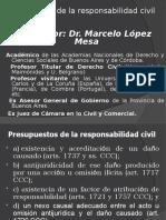 presupuestos de la responsabilidad civil lopez mesa.ppt