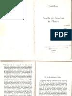 Ross, David - Teoría de las Ideas de Platón (Fragmento - Sol, Linea, Caverna).pdf