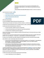Información Documentada en La ISO 9001