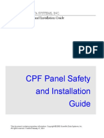 Cpf Panel Safety and Installation Guide